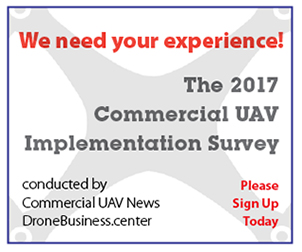 2017 Commercial UAV Implementation Survey