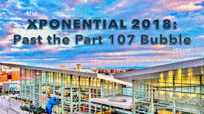 XPONENTIAL 2018: Past the Part 107 Bubble issue of Dronin