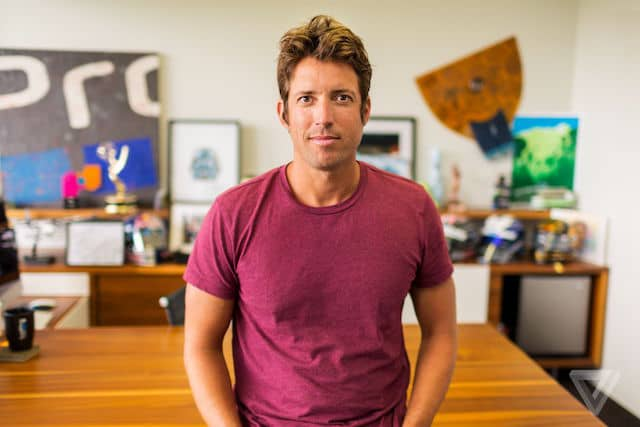 portrait of Nick Woodman