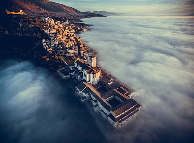 1st Place – Basilica of Saint Francis of Assisi in Umbria, Italy by fcattuto