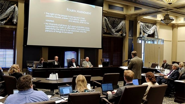 Oklahoma state legislature conducts hearings on UAS law