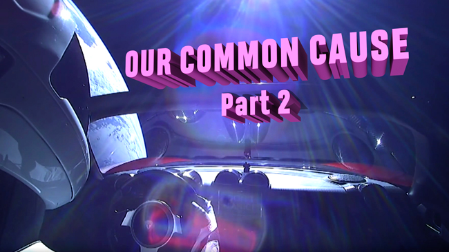 Our Common Cause - Part 2 issue of Dronin' On 02.17.18