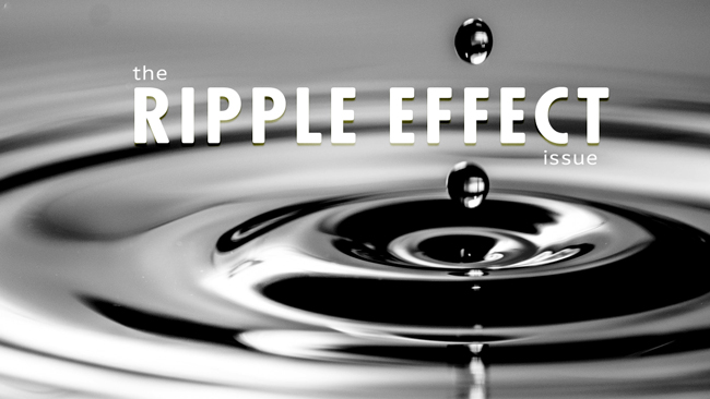 The 'Ripple Effect' issue of Dronin' On 07.21.18