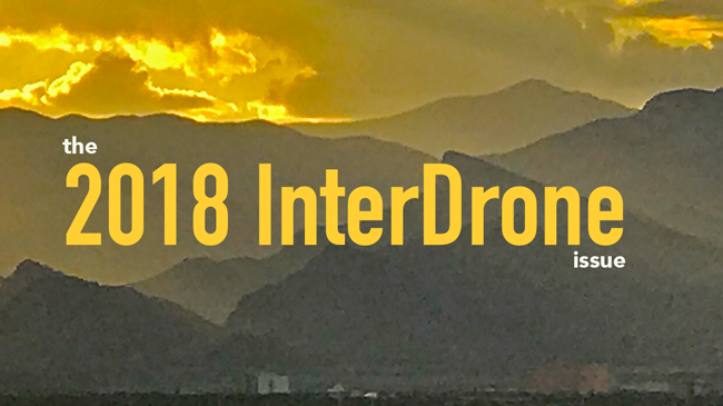 The '2018 InterDrone' issue of Dronin' On 09.08.18