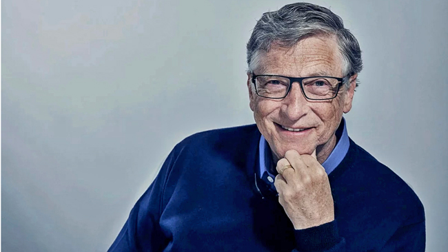 Bill Gates - courtesy MIT Technology Review