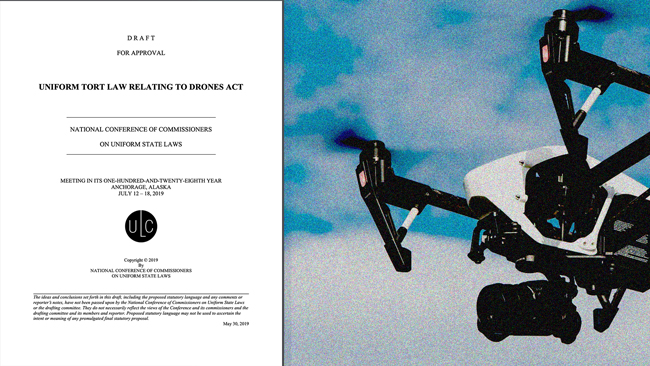 Uniform Tort Law Relating to Drones Act - Annual Report cover